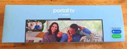 Facebook - Portal TV Smart Video Calling on Your TV with Alexa - Lightly Used