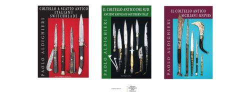 All three books on Italian antique knives by Paolo Aldighieri