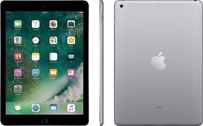 Apple-iPad 2017 NEW Model with WiFi - 32GB - Space Gray - NO TAX - FREE SHIPPING