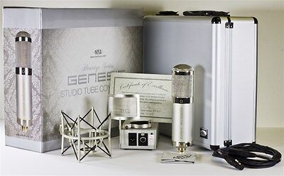 Mxl Genesis Heritage Edition Tube Studio Mic Set New