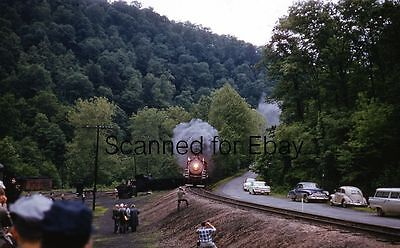 Buffalo Creek Gauley  4 Dundon Wv Jun 1960 Kodachrome Slide  Railroad