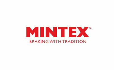 Mintex MDC434 Pair Of Vented front Brake Disc Replaces 1637966,1637967,5022673