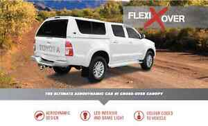 FLEXIGLASS FLEXIXOVER CANOPY FOR DUAL CAB UTE Wingfield Port Adelaide Area Preview