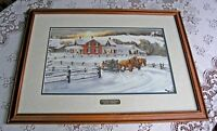Country Homestead-Walter Campbell (Framed and Double Matted)