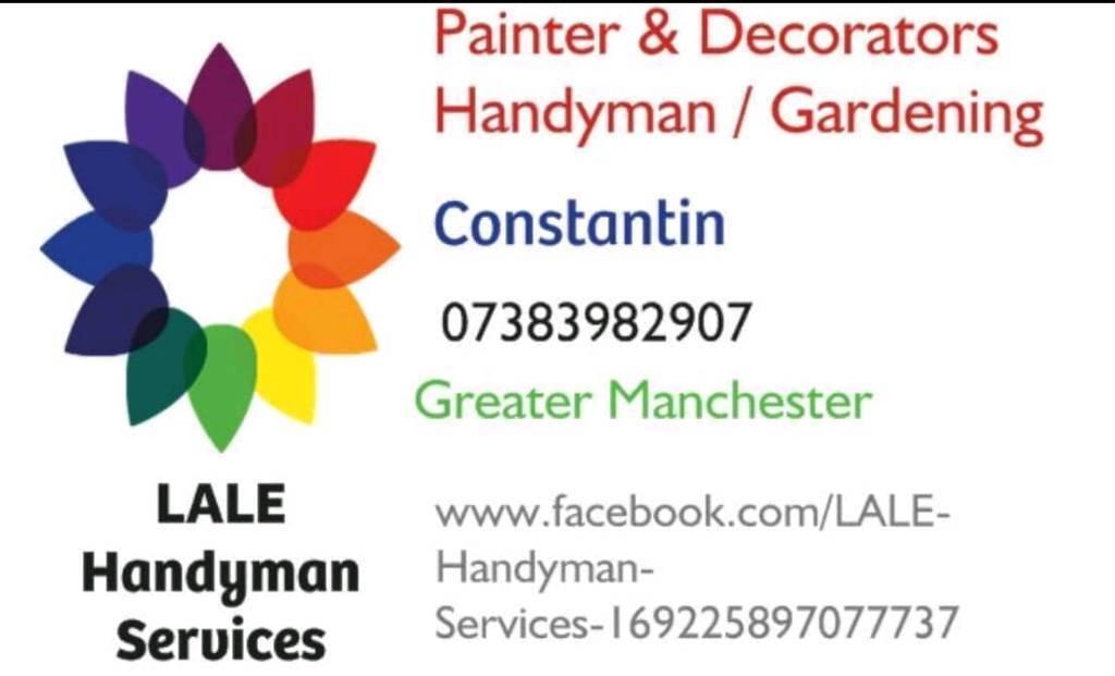 Painting Decorating Handyman Gardening In Farnworth
