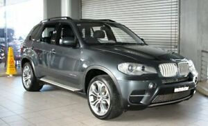2010 BMW X5 E70 MY10 xDrive 40d Sport Grey 8 Speed Automatic Sequential Wagon Thornleigh Hornsby Area Preview