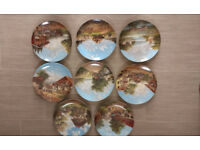 8 Collectable Wall Plates