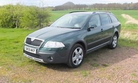 Grab a bargain with this perfect example of the highly desirable Octavia Scout 4x4