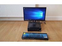 "HP EliteDesk 800 G2 SFF Intel Core i5-6500 4GB 500GB Windows 10 22"" ProLite B2282HD Full HD Monitor"
