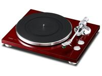 TEAC TN-300 cherry red Record Player Turntable - Brand new unopened