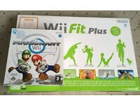 Wii fit plus and mariokart