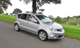 NISSAN NOTE N-TEC - SAT-NAV-BLUETOOTH. CRUISE CONTROL. VERY LOW MILES - (LATE 59reg)