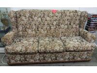 3 Seater Sofa & Chair G15