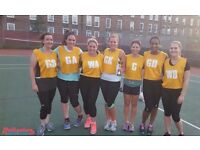 Competitive netball league in Brixton South London