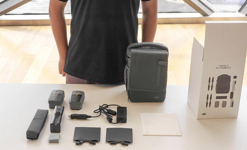 DJI Mavic 2 Part 1 - Fly More Accessory Kit - US Dealer