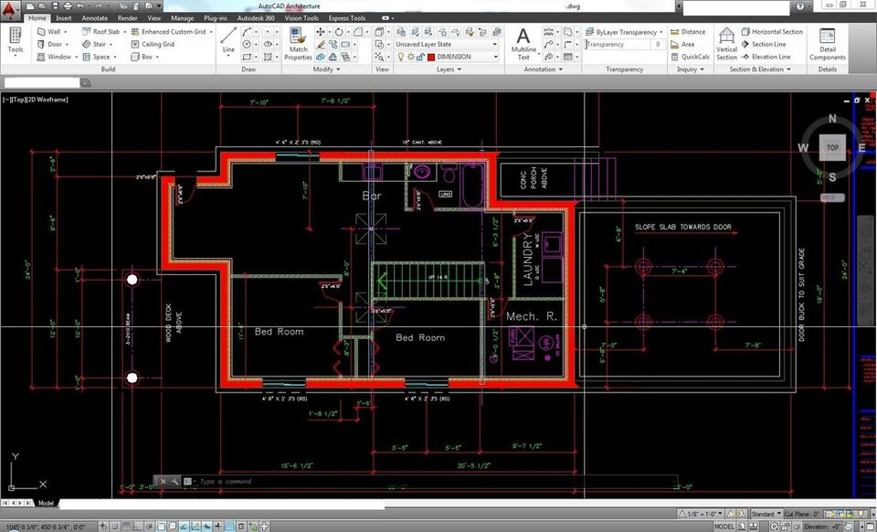 Making the drawings to the City of Calgary (AutoCAD & Revit