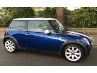 AUTOMATIC MINI COOPER PANORAMIC SUNROOF LEATHER TRIM EXCELLENT CONDITION AUTO COOPER ONE S