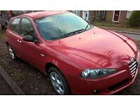 Alfa Romeo 147, 5 door, automatic, MOT