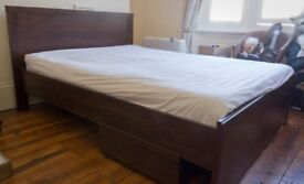 Double Bed Frame & Mattress (Collection Only)