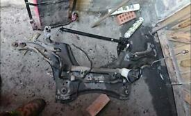 Steering rack and anti roll bar for Renault scenic