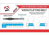 AQF Weight Lifting Belt Gym Training Back Support Neoprene Lumber Pain Fitness