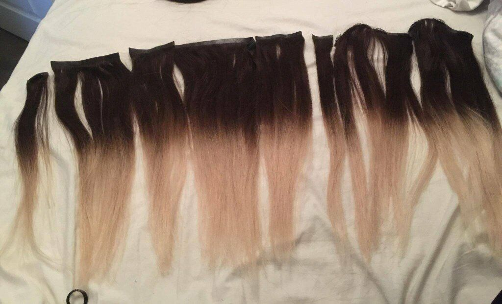 Foxy Locks Extensions Vanilla Frappe 18quot Real Human Hair
