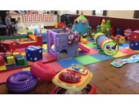 Soft Play and Toy Hire for under 5's - Cheeky Monkeys Playtime