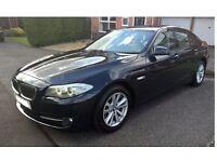 2011 (11 Reg) BMW 520D 2.0 SE DIESEL AUTOMATIC, BLUE. BRILLIANT FAMILY CAR.