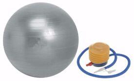Swiss Ball Yoga Ball Exercise ball, Gym Ball 55cm -75cm from £10 Anti Burst ball: NEW
