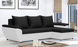 Corner sofa bed Jacob - with storage