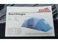 Khyam Santiago 5000 4 Man Tent With Two Bedrooms