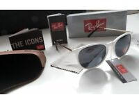 RAYBANS WHITE GLOSS LADIES SUNGLASSES COLLECTION PLUS PAYPAL WELCOME sofa