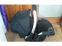 Baby Weavers baby car seat and bag