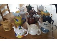 15x Teapots/Coffeepots(various variety)