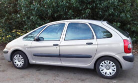 CITROEN XSARA PICASSO 1.6 PETROL BEIGE, IMMACULATE ONLY 95,000 ON CLOCK !! HUGE STORAGE FULL SERVICE