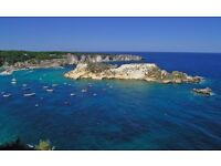 One week in the Tremiti Islands in Italy 3-10 June