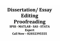Proofreading (URGENT) Service - Dissertation / Phd Thesis / Essays / Assignment / Editing / Help