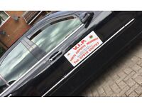 VIP car hire for Port, Airport runs and Weddings