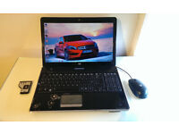 "Laptop HP 15.6"" in excellent Working Condition.Fingerprint protection! +HP optical mouse +laptop bag"