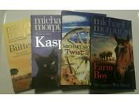 Set of 4 Michael Morpurgo books
