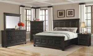 6pcs. Black Bedroom Set | Furniture Sale Canada (GL1104)