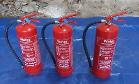 Fire Extinguishers Water 6 Litre Fire Safety Systems Charged