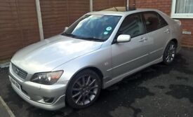 Lexus IS200 silver, full body kit, under 30000 miles