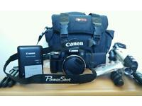 Canon powerShot SX50 HS with bundle