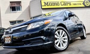 2012 Honda Civic EX-L! Leather+NAV+USB/Aux! ONLY $113/bi-weekly!