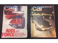 21 X CAR Magazine 1983-91