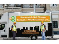 FAVERSHAM MAN AND VAN, REMOVALS FAVERSHAM, RELIABLE KENT REMOVALS COMPANY, 7.5 TONNE LORRIES