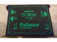 Palmer 02 Pan active DI box