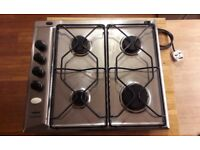 4 ring gas hob with electric ignitor. Ikea by whirlpool. In good condition.