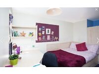 En-suite bedroom in shared student accommodation in the heart of Edinburgh.